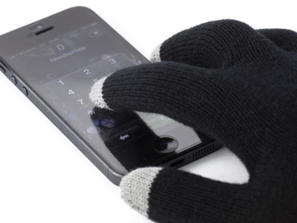 Gants  pour Ecran Tactile Munis de 3 Embouts