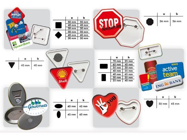 Badges Événements ou Promotions - visuel 1