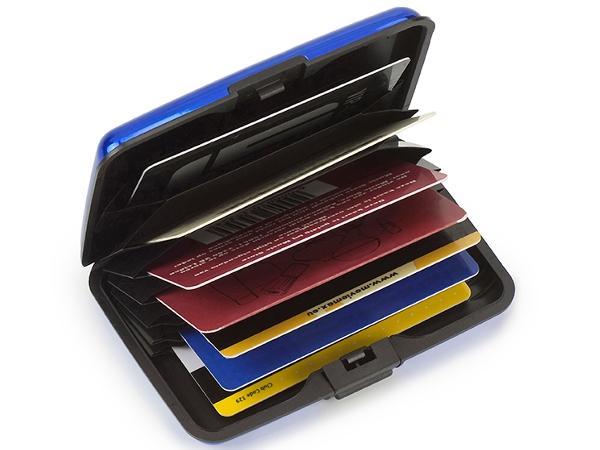 Etui Porte Cartes de Crédit Aluminium