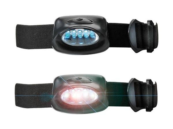 Lampe Frontale en Plastique