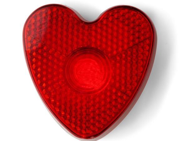 Réflecteur Coeur Rouge