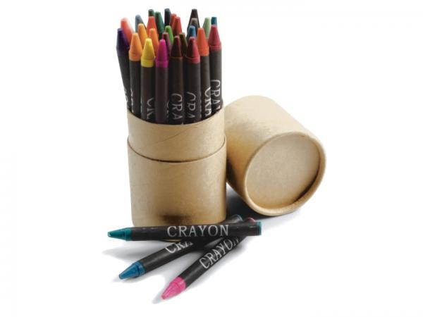Tube de 30 Crayons Gras