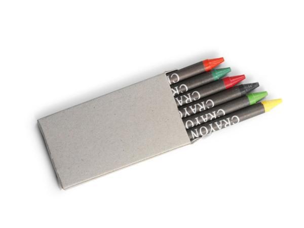 Set de 6 Crayons Gras - visuel 1