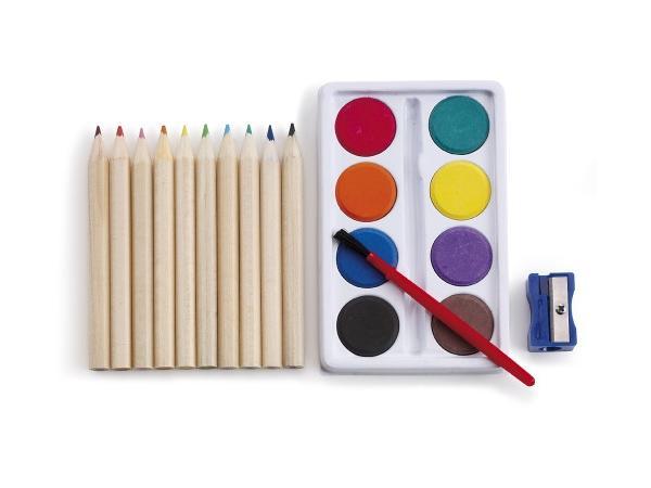 Set à Dessin de 10 Crayons