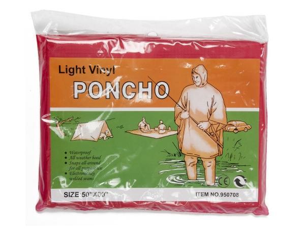 Poncho en Vinyle - visuel 3