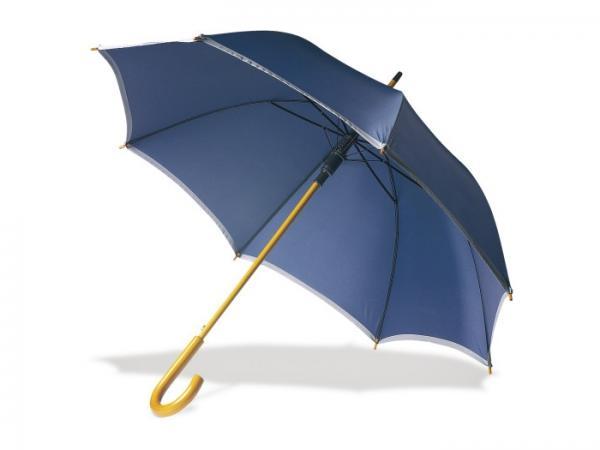 Parapluie avec Bande Argentée