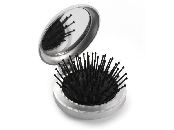 Brosse à Cheveux Pliable Miroir