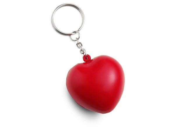 Porte-Clés Coeur Anti-Stress
