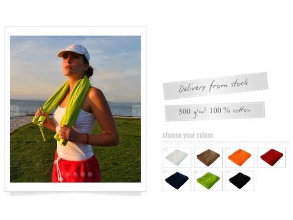 Serviette Sport Coton 100x150
