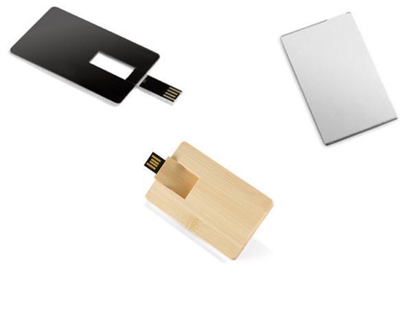 Cle USB Carte De Credit Bambou  - visuel 2