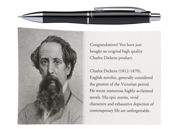 Stylo Bille Charles Dickens - visuel 1
