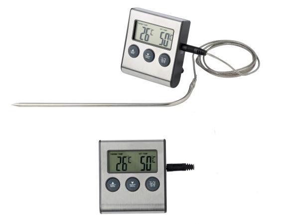 Minuteur et thermomètre de Cuisson