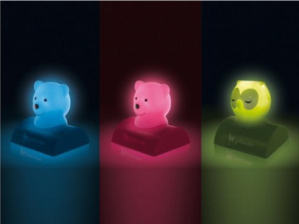 Lampe Veilleuse Ourson Hibou - visuel 2