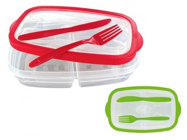 Boîte à Repas Transparente