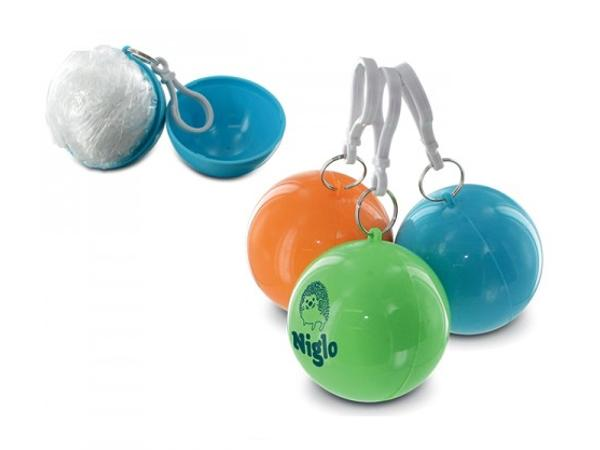 Poncho PE en Boule Plastique