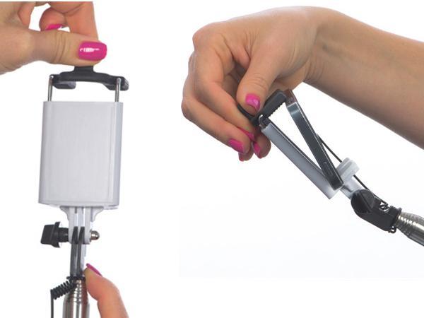 Perche Selfie  Télescopique et D - visuel 3