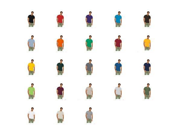 T-shirt 185g/m2 GILDAN - visuel 2