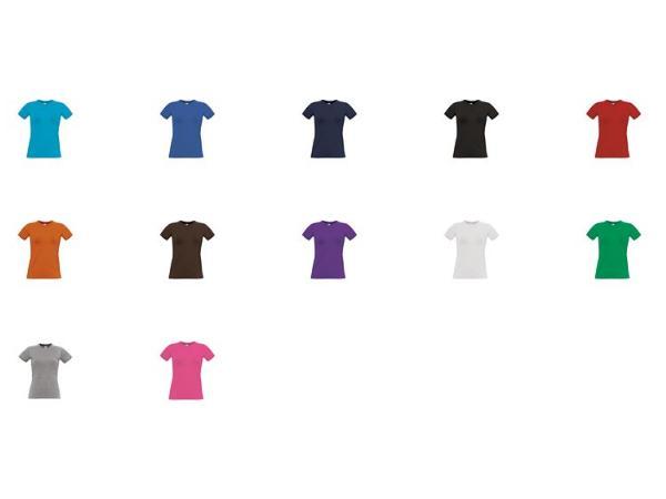 T-Shirt 185g/m2 B&C - visuel 2