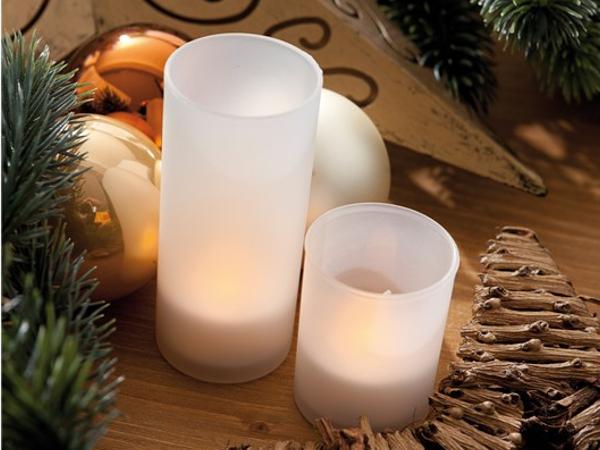 Lumière LED Style Bougie