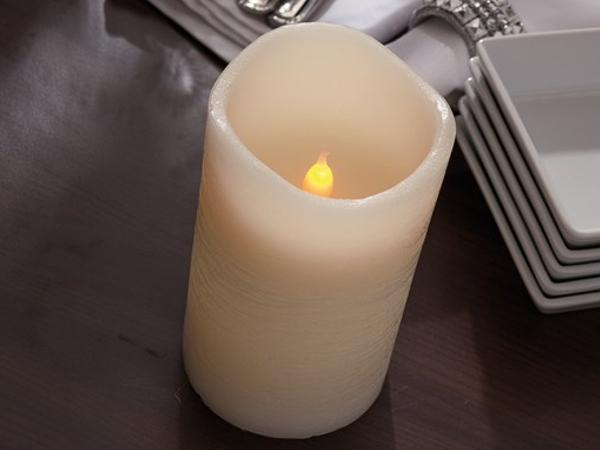 Bougie LED Senteur Vanille - visuel 1