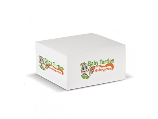 Cube Papier Blanc