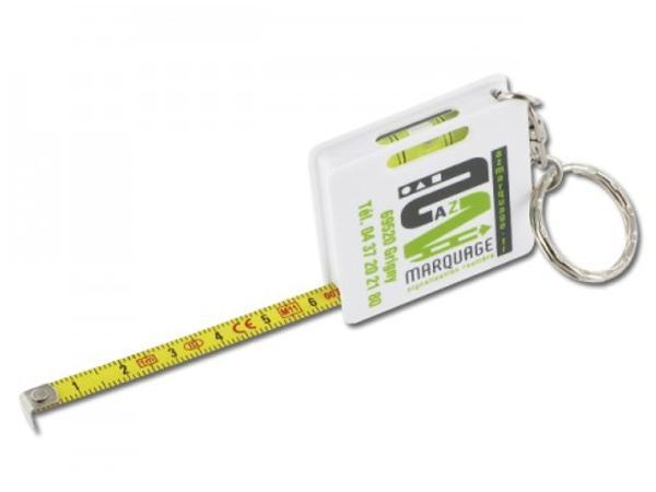 Porte-clés Mètre Ruban 1m
