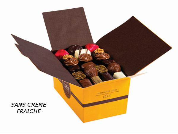 Ballotin 67 chocolats 940g SANS crème et SANS ALCOOL - visuel 1