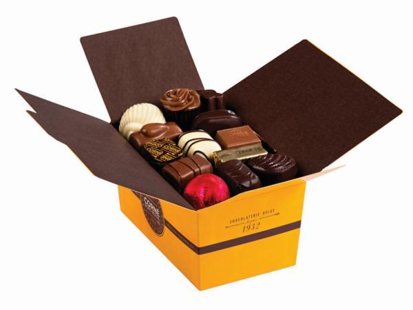 Ballotin 33 chocolats 470g AVEC crème fraîche