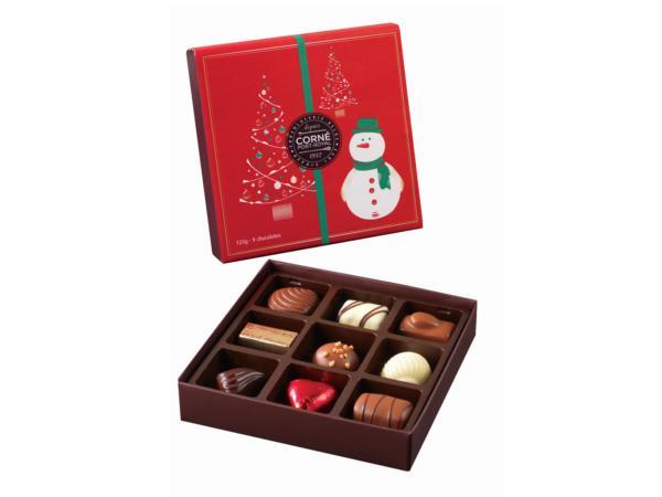 Ecrin 9 chocolats 125g