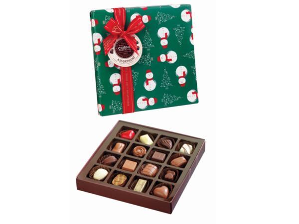 Assortiment de 16 chocolats 220g