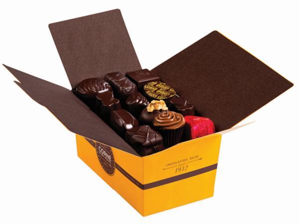 Ballotin 34 chocolats noirs