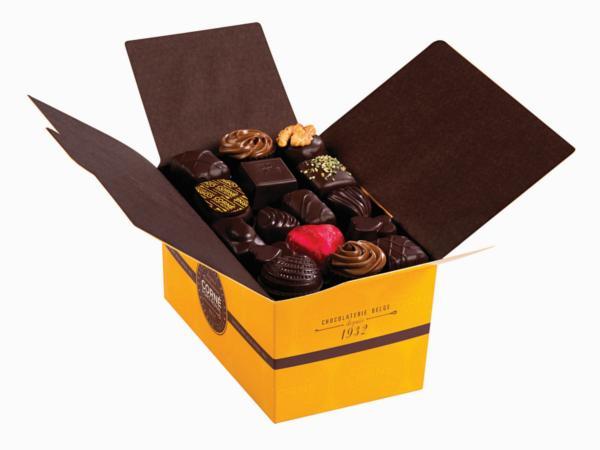 Ballotin 51 chocolats noirs