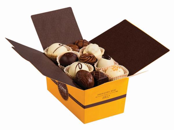 Ballotin 33 chocolats assortis