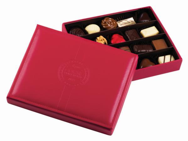 Boîte Cuir Chocolat 285g