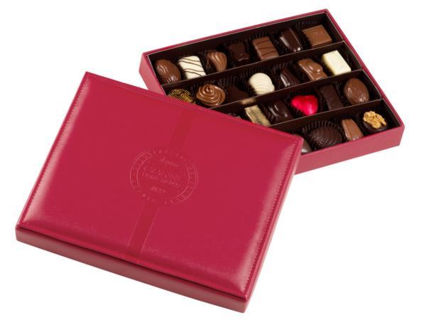Boîte Cuir Chocolat 375g