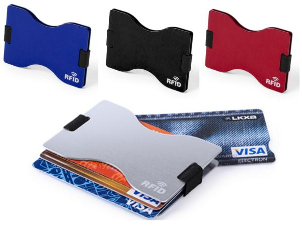 Porte-cartes Aluminium Protecteur RFID