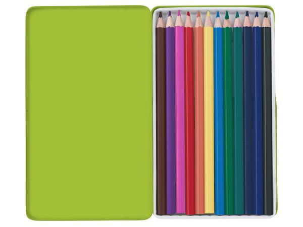 Boite de 12 Crayons de Couleur  - visuel 1