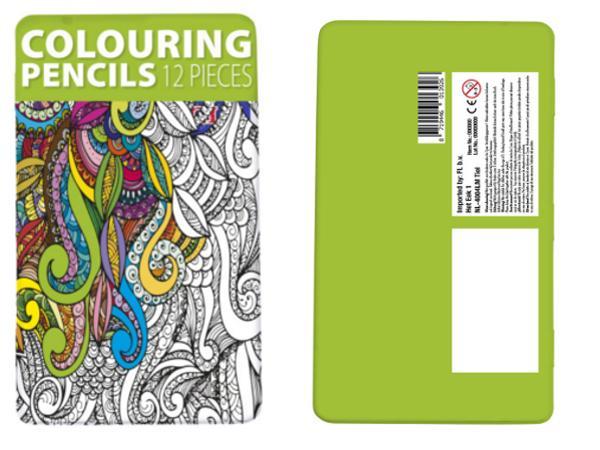 Boite de 12 Crayons de Couleur  - visuel 2