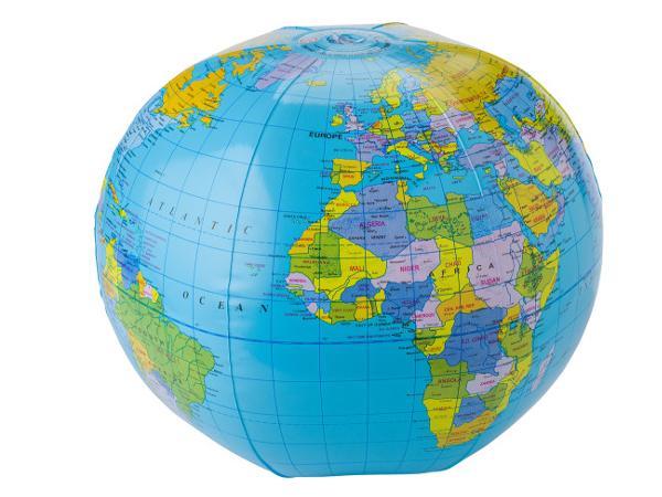 Ballon de Plage Globe