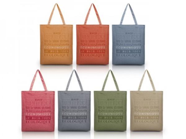 Sac en Coton Tote Bag Fabriqué en France - visuel 2