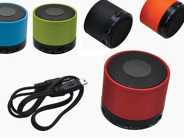 Mini Enceinte Bluetooth 3W Radio et lecteur audio