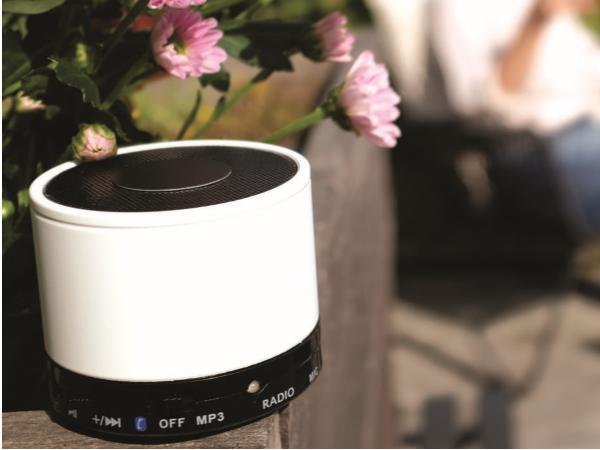 Mini Enceinte Bluetooth 3W Radio et lecteur audio  - visuel 2