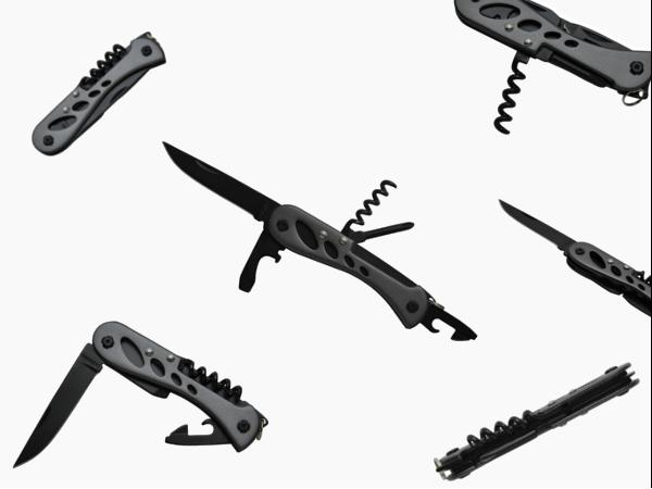 Couteau Multifonctions Barrow, 7 Fonctions, Version Tech - visuel 1