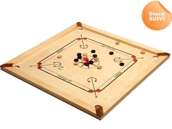 Carrom mango 83 cm ASMODEE jeu de société bois