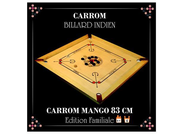 Asmodee CBM2 Jeu de stratégie Carrom Mango 83 cm
