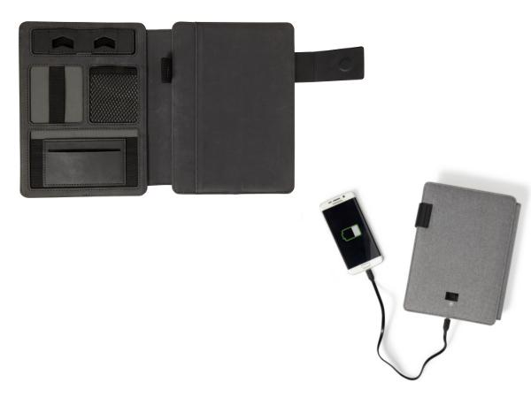 Conférencier A5 avec Power Bank de 4000mAh et d'un Câble Micro U - visuel 2