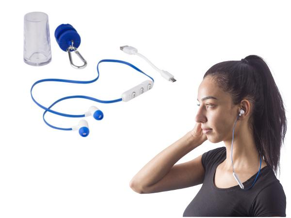 Écouteurs Bluetooth Micro avec Support Smartphone  - visuel 1