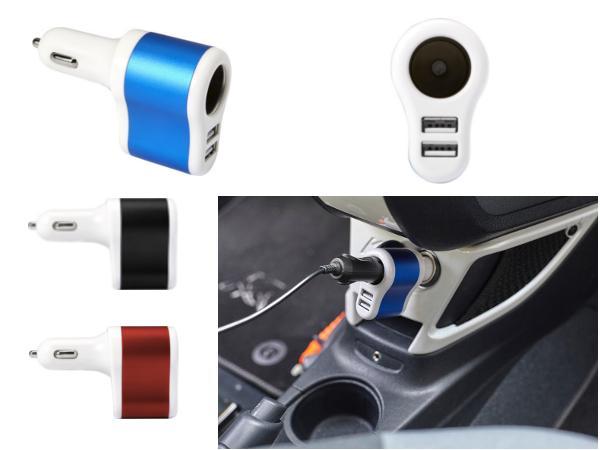 Prise Allume Cigare Double USB - visuel 1