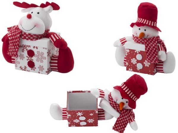Boîte Cadeau Figure de Noël