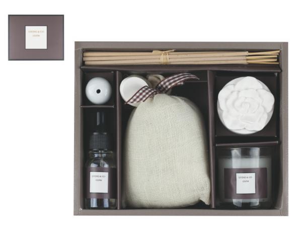 Set Aromatique Bougie et Encens